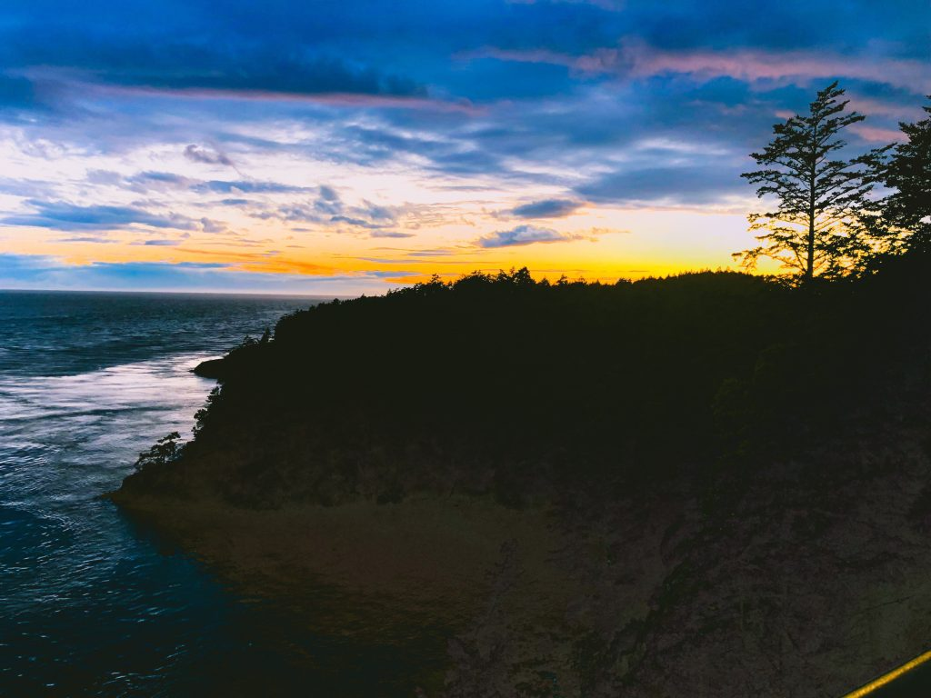 Sunset, Whidbey, Deception pass, Trees, Island, Island life, Real Estate