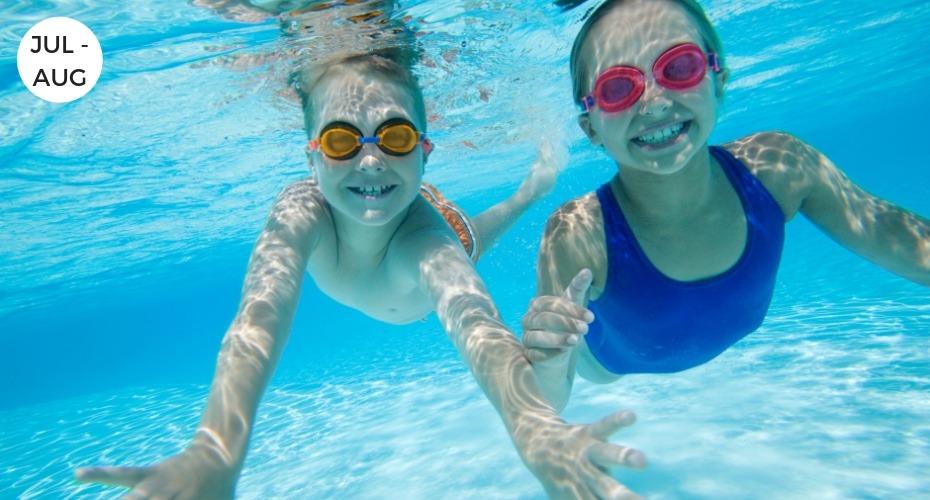 Swim Lessons, Coupeville, Summer, activities, Swim, pool, Whidbey Island