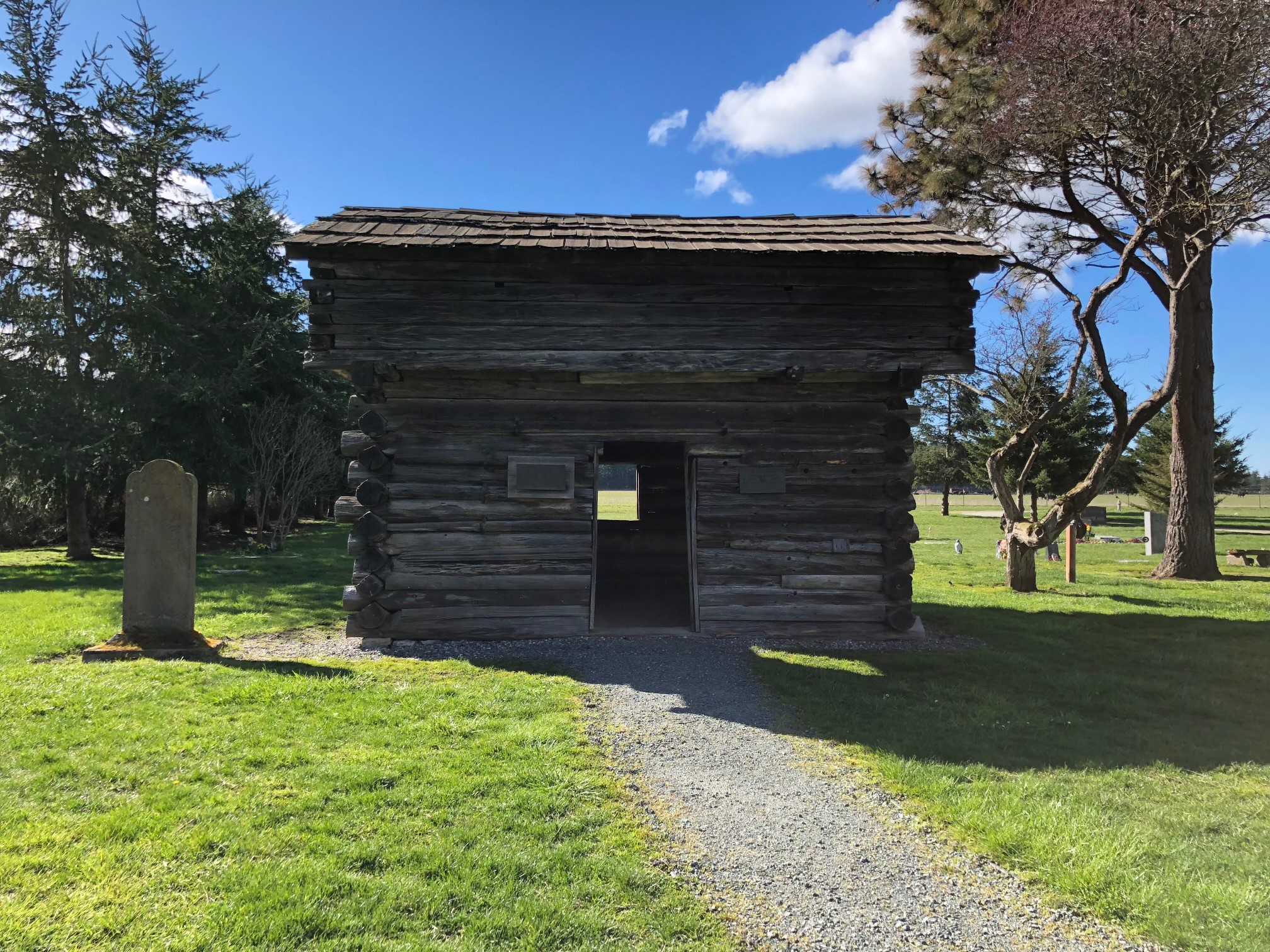 Jacobs Blockhouse, Ebey's Landing, coupeville, Whidbey Island, Windermere