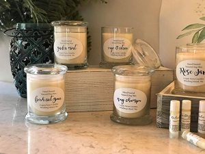 Relax with candles, Windermere Real estate whidbey island