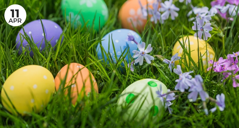 Easter, Egg hunt, Clinton, Whidbey island, kids, family, fun, stay local, community event