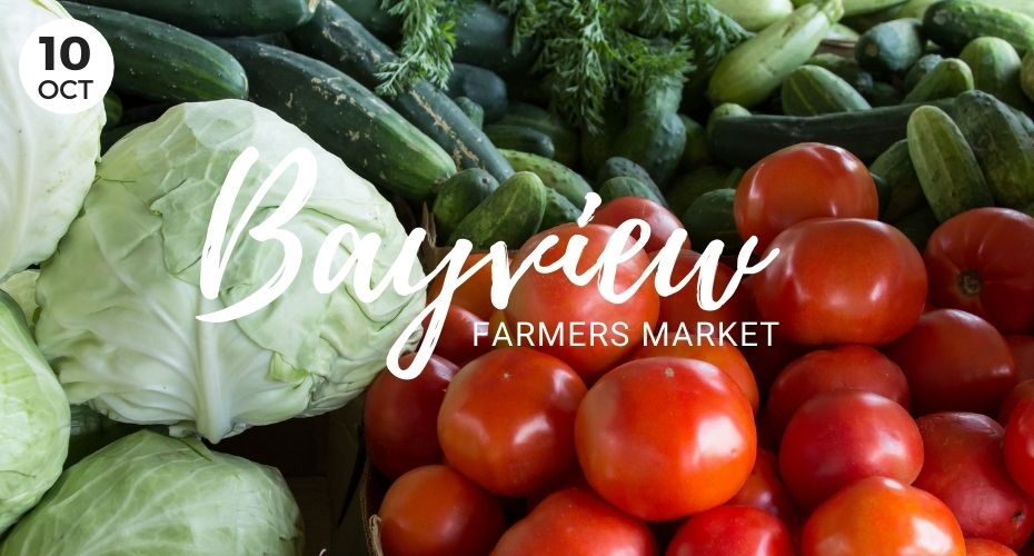 Bayview Farmers Market, Whidbey Island, Langley, Washington, fram