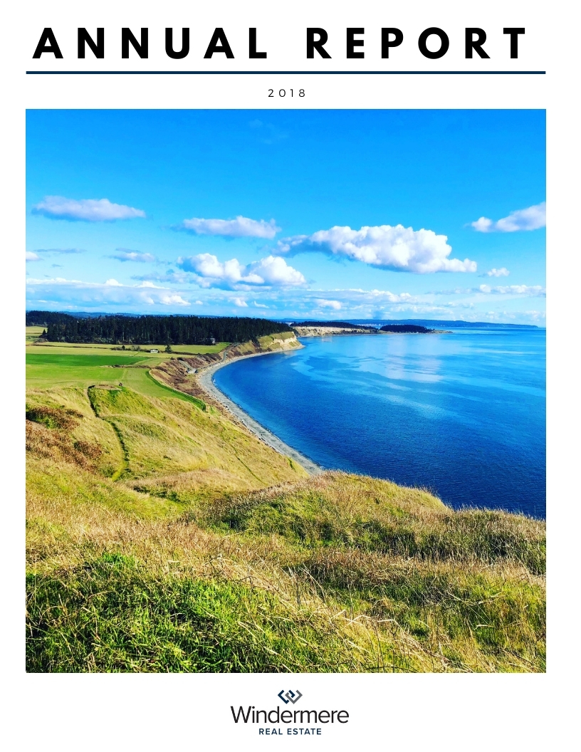 Windermere, Real Estate, Whidbey Island, Stats, Annual Report, 2018
