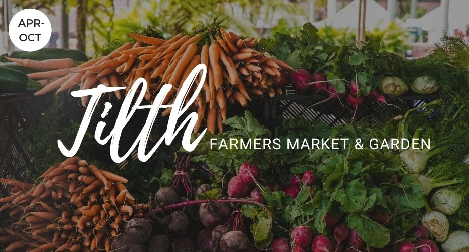 Tilth Farmers Market & Garden, South Whidbey, Whidbey Island, Washington