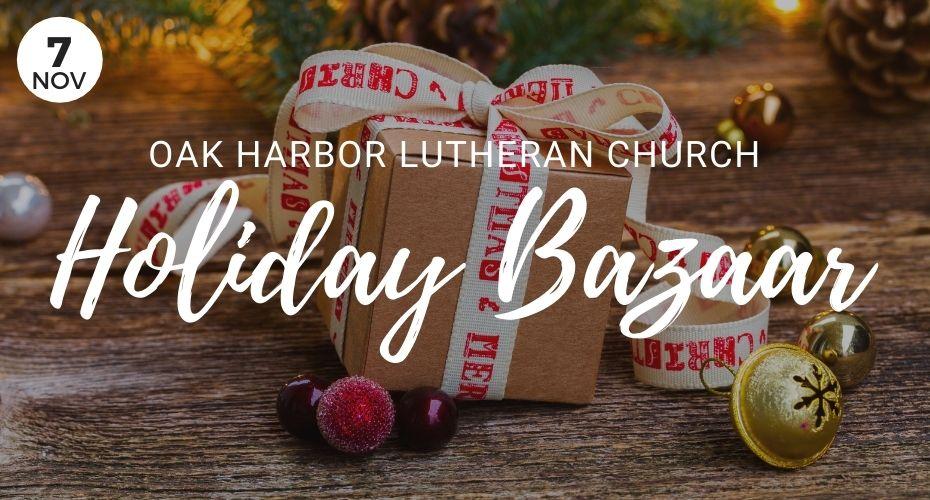Holiday Bazaar, Oak Harbor, washington, event, Holidays, Gifts, Lutheran, Church