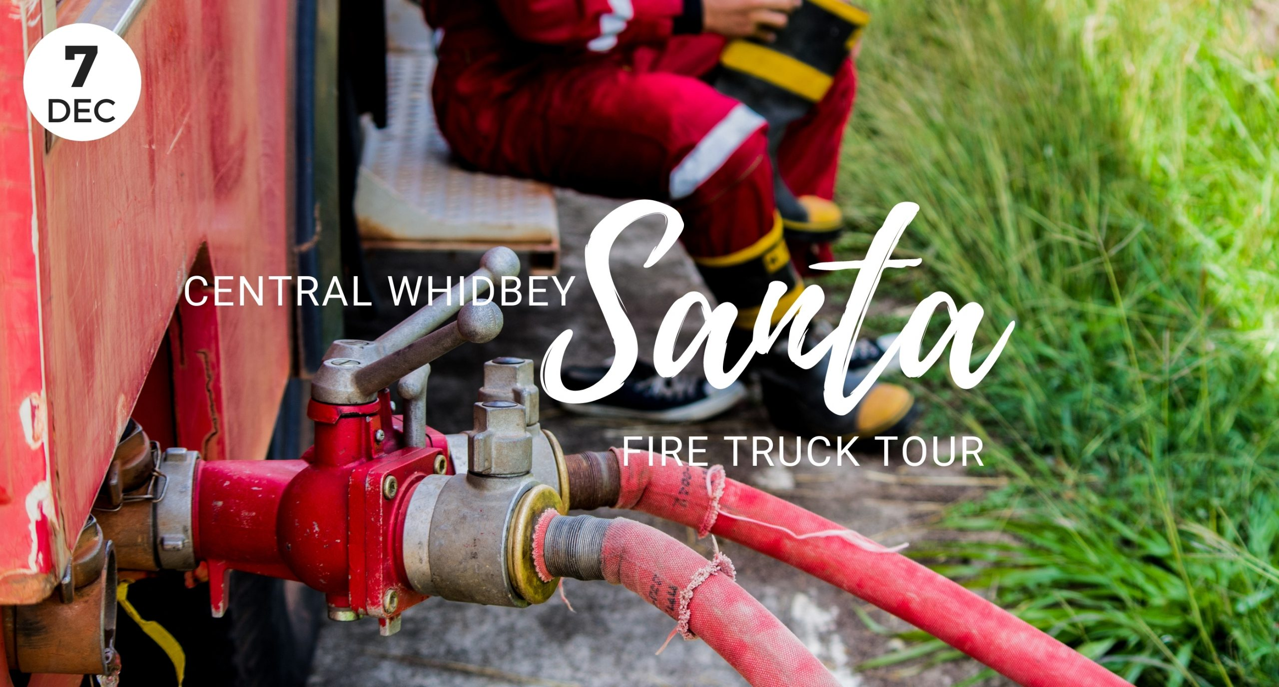 Central Whidbey Santa Fire Truck